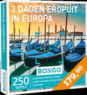 Bongo - 3 dagen eropuit in Europa