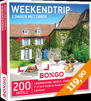 Bongo - Weekendtrip 2 dagen met diner