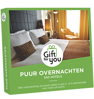 Gift for you - Puur overnachten